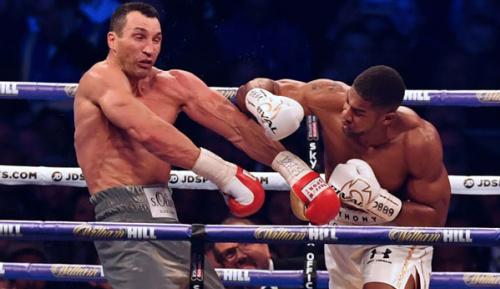 Boxen: Knockout! Joshua schickt Klitschko wohl in Rente