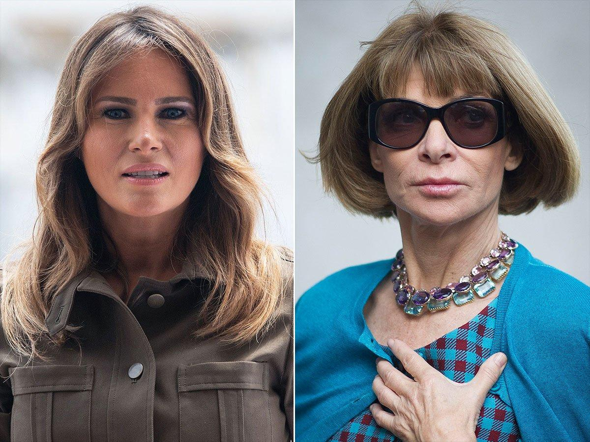Why Melania Trump Is Slamming Vogue and Anna Wintour