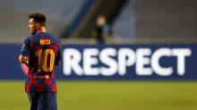 Assim como Santos após Pelé, Barcelona viverá sem Messi