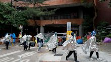 100 Protesters Remain Holed Up In Hong Kong University Despite Daring Attempts To Escape