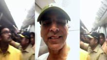 Akshay Kumar takes Mumbai Metro ride like a boss!