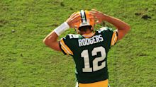 Aaron Rodgers celebrates would-be TD with ode to 'Key & Peele'