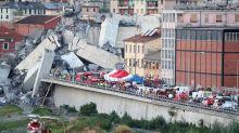 Opérations de secours à Gênes : «On peut encore sauver des vies»