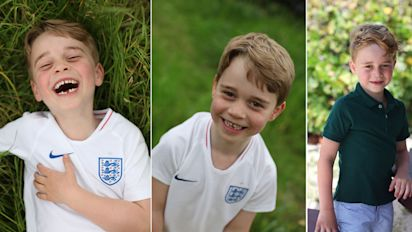 Prince George is all grown up in new birthday photos
