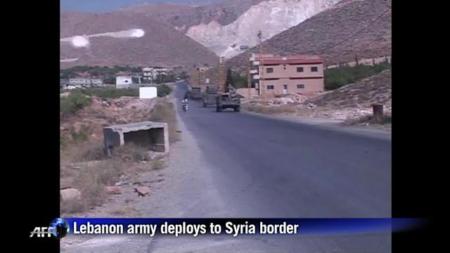 Lebanon army deploys to Syria border after clashes kill 10