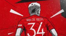 Dean Henderson cede camisa e Van de Beek utilizará o número 34 em homenagem a um amigo
