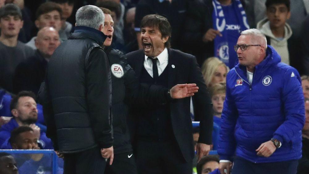 """► """"Confronto com Mourinho sempre é um circo"""", diz Conte"""