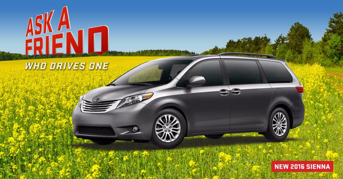 Checkout the New Look of the 2016 Sienna