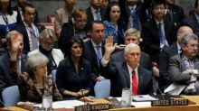 Pence tells U.N. that America first does not mean America alone