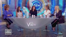 Meghan McCain Walks Off 'The View' Set After Clash With Ana Navarro