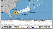 El huracán Humberto amenaza con fuerte oleaje a EEUU en su camino a Bermudas