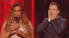 Tyra Banks' awkward blunder on live Dancing with the Stars