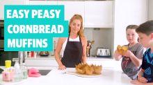 Easy peasy cornbread muffins