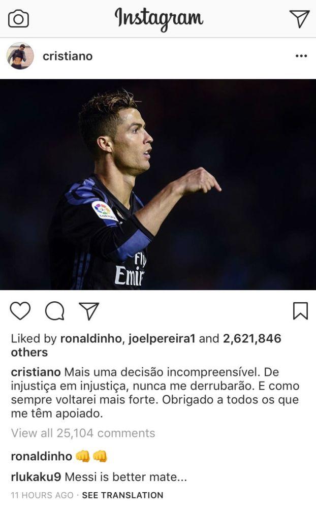 Real Madrid, quand Lukaku chambre Cristiano Ronaldo