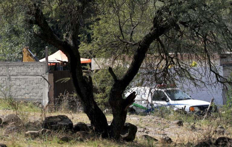 Nearly 2,500 murders were reported between January and November in Jalisco -- where the powerful Jalisco Nueva Generacion cartel is based (AFP Photo/Ulises Ruiz)