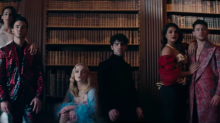 Sophie Turner and Priyanka Chopra play royal dress up in new Jonas Brothers music video