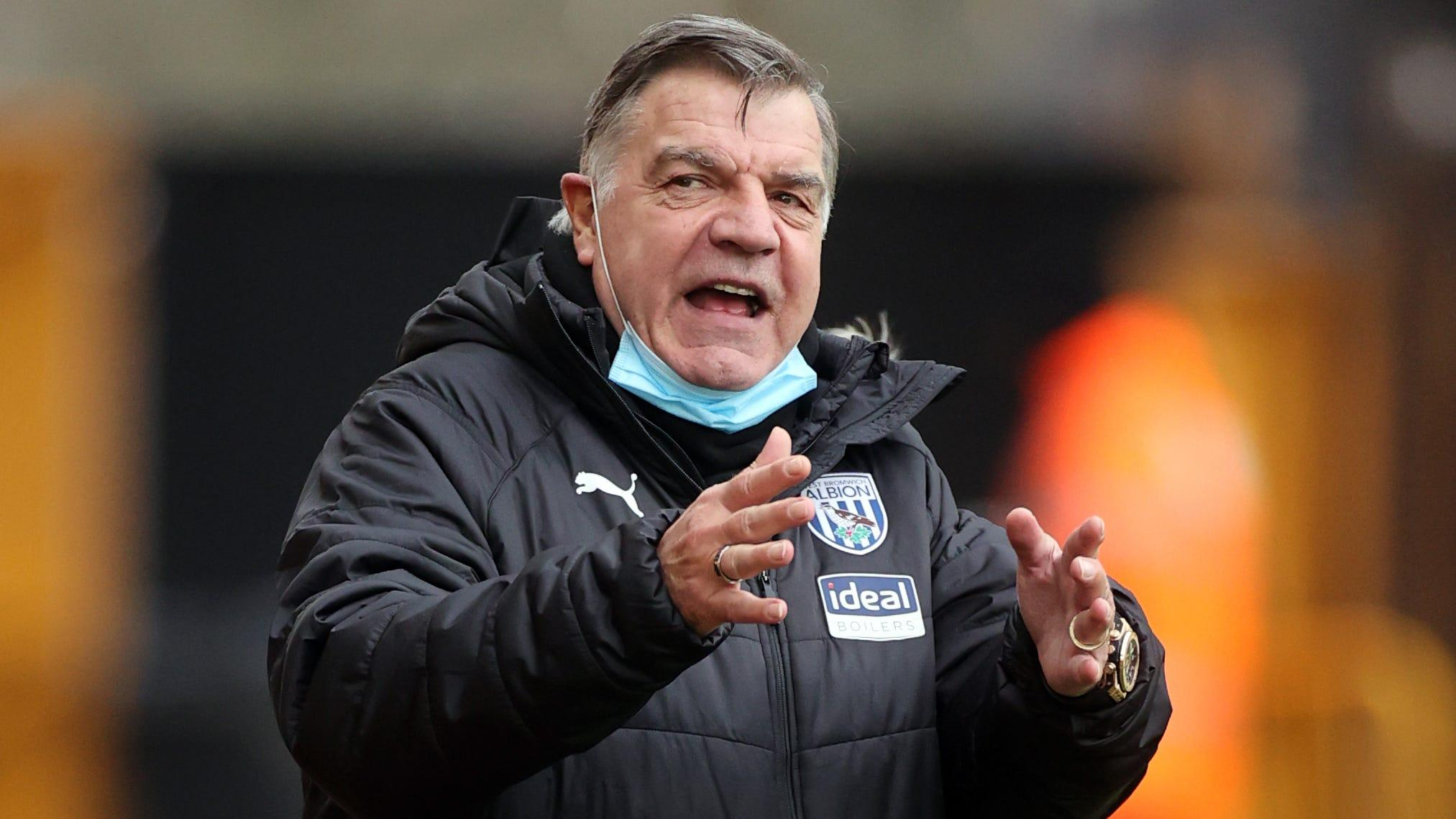 Premier League 'helping us to get relegated', claims Baggies boss Sam Allardyce
