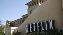 US STOCKS-Wall Street falls as Netflix adds to earnings jitters