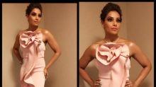 Bipasha Basu looks gorgeous in a pink mermaid gown