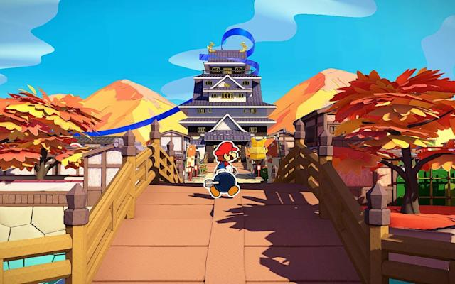 'Paper Mario: The Origami King' will have you battling office supplies