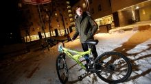 Boy who was ISIL captive behind movement to bring bicycles to refugee children