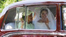 Meghan Markle weds Prince Harry in bespoke Givenchy wedding dress
