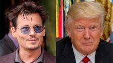 Johnny Depp se disculpa por bromear con el asesinato de Donald Trump