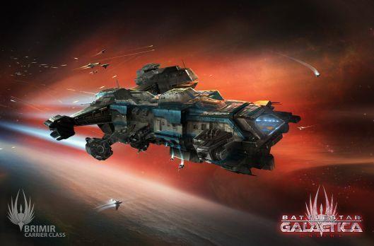 Battlestar Galactica Online unveils new Brimir Class Carrier