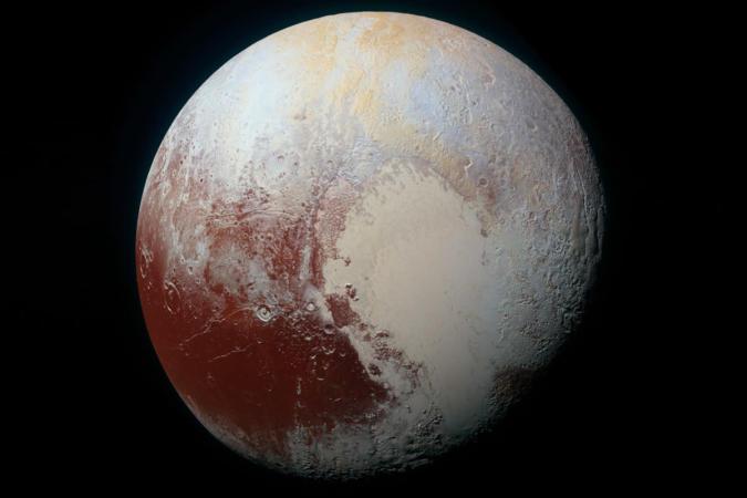 Pluto may have a 60 mile deep liquid water ocean