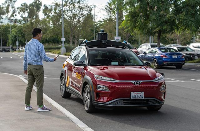 Hyundai will offer free self-driving rides in Irvine, California