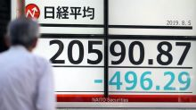 La Bolsa de Tokio modera su caída tras las medidas de China para estabilizar el yuan