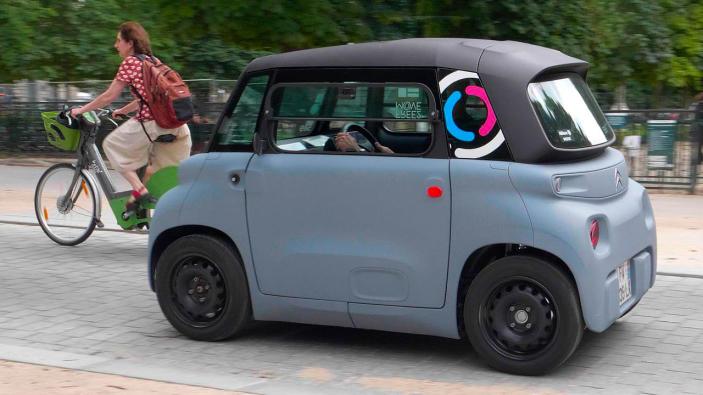 Driving Citroen's pint-sized Ami EV is as fun as it looks