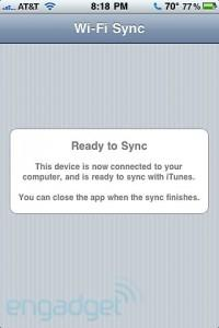 Wi-Fi Sync now compatible with Windows and iPad