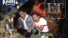 Macaulay Culkin and Brenda Song Are Dating, Show PDA During Theme Park Date