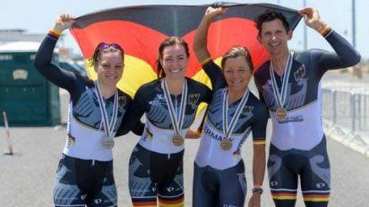 Para Radsport: Schon sechs deutsche WM-Medaillen