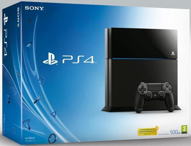 Here's the retail packaging for PlayStation 4 and its many accessories