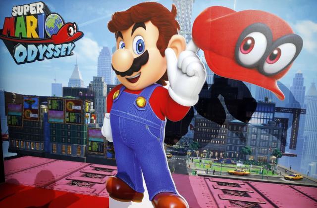 Nintendo will show off more 'Super Mario Odyssey' on Wednesday