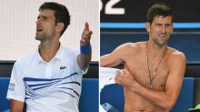 Novak Djokovic turns on Aussie crowd over unsporting act