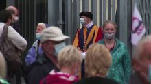 Four Vatican Swiss Guards test positive for COVID