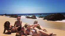 Katy Perry se escapa a las playas de México y presume de su cuerpazo