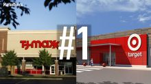 Two retailers tied as America's favorite for value