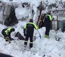 Eight survivors found after massive Italy avalanche
