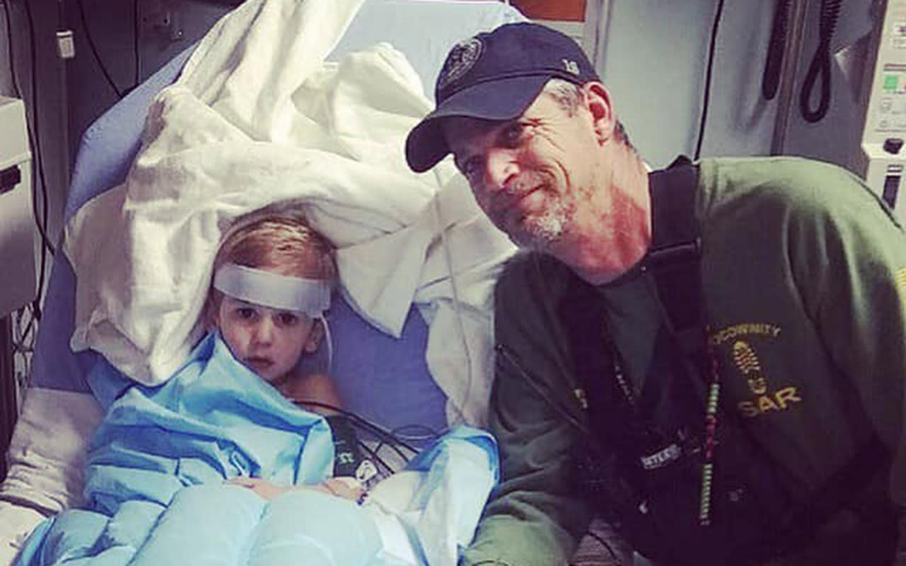 Three-year-old survives two days in woods with help from friendly bear