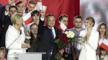 Conteo casi final apunta a reelección de presidente polaco