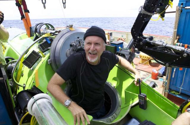 James Cameron found himself at the bottom of the ocean