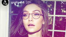 These are the sunglasses Gigi Hadid just designed, and they are such cool-girl shades