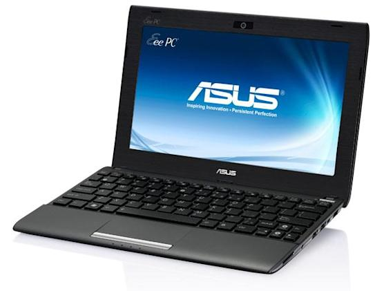 ASUS Eee PC Flare 1025C / CE, 1225B and X101CH netbooks at CES 2012 (update: hands-on photo)
