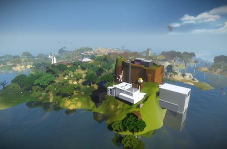 The Witness is Jon Blow's second shot at all or nothing