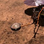 "NASA's Insight lander detects first ""marsquake"""