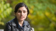 Yazidi survivor of IS slavery aims to be 'voice' of her people